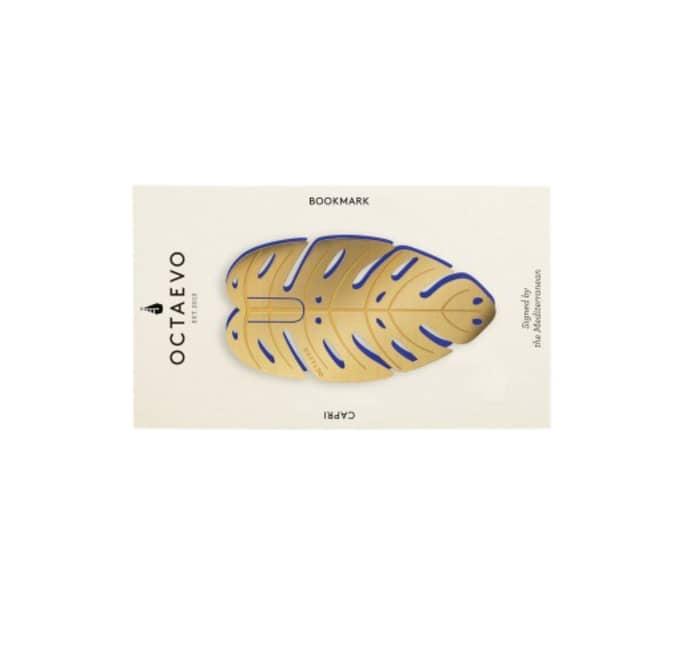 Marque pages Capri en laiton - OCTAEVO