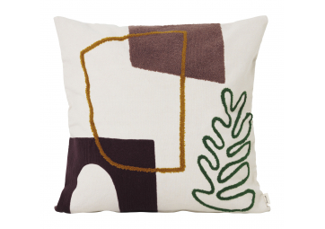 Coussin Mirage Leaf - FERM LIVING