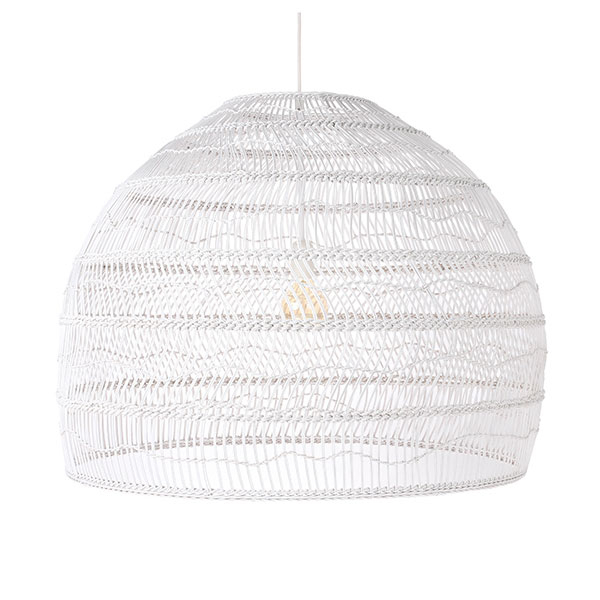 Suspension en osier noir WICKER - M