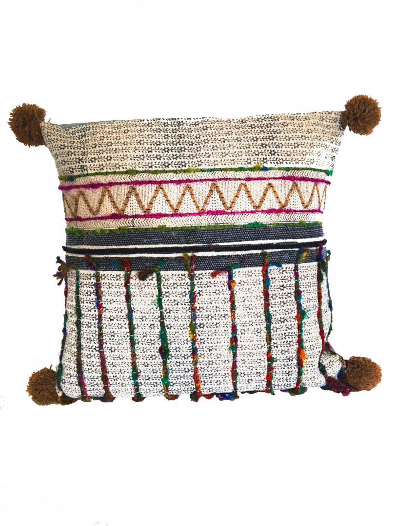 Pillow Mixed Lines - 60 x 60 cm - IO SCANDINAVIA