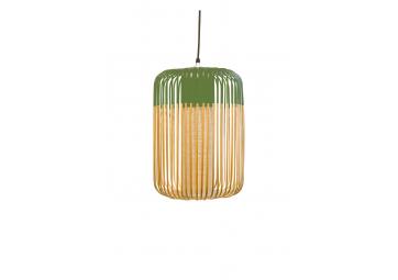 Suspension bamboo light l - FORESTIER