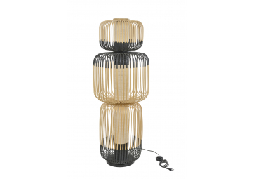 Lampadaire bamboo light 3 lights - FORESTIER