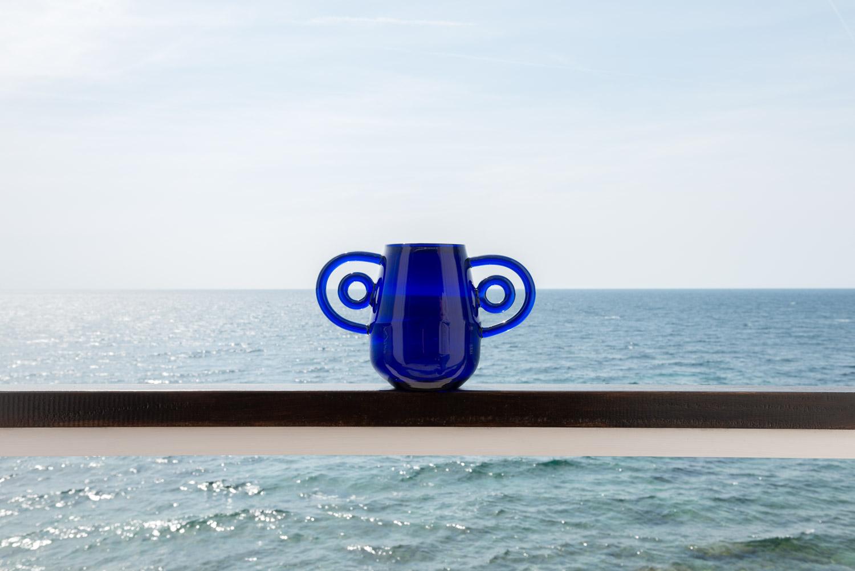 Vase Hualos Bleu - MARGAUX KELLER