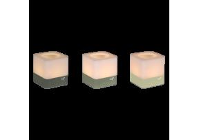 CUUB - LOT DE 3 PHOTOPHORES H.8 CM - FERMOB