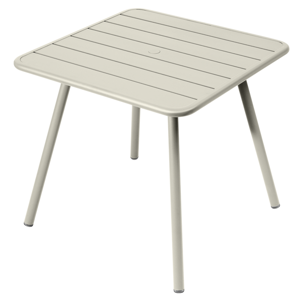 Table Luxembourg 4 pieds 80 x 80 - FERMOB