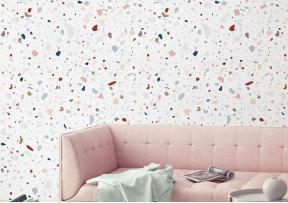 """Rouleau de papier peint """"Granite"""" multicolor - PAPERMINT"""