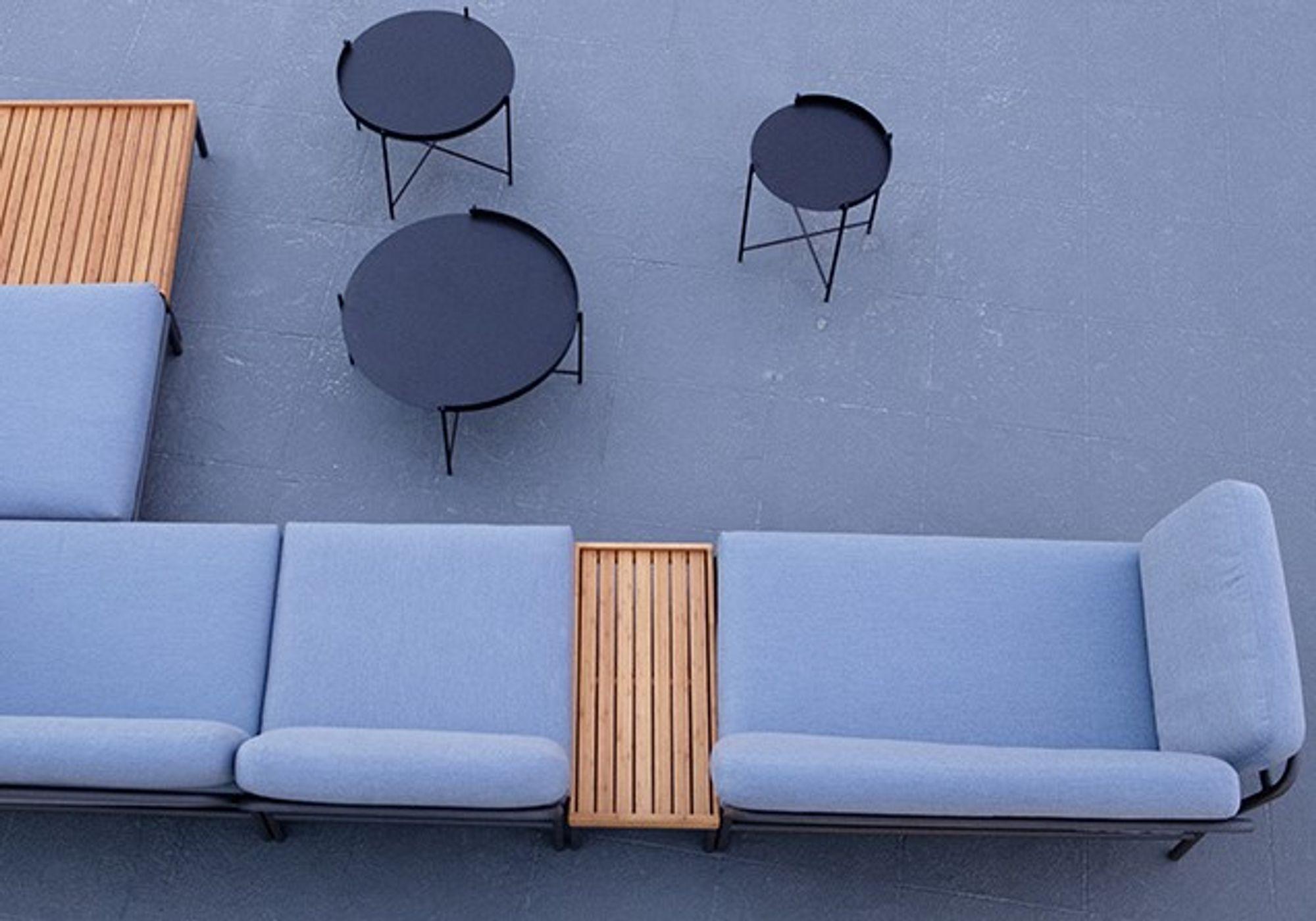 Table D Appoint D Exterieur En Bambou Level By Houe