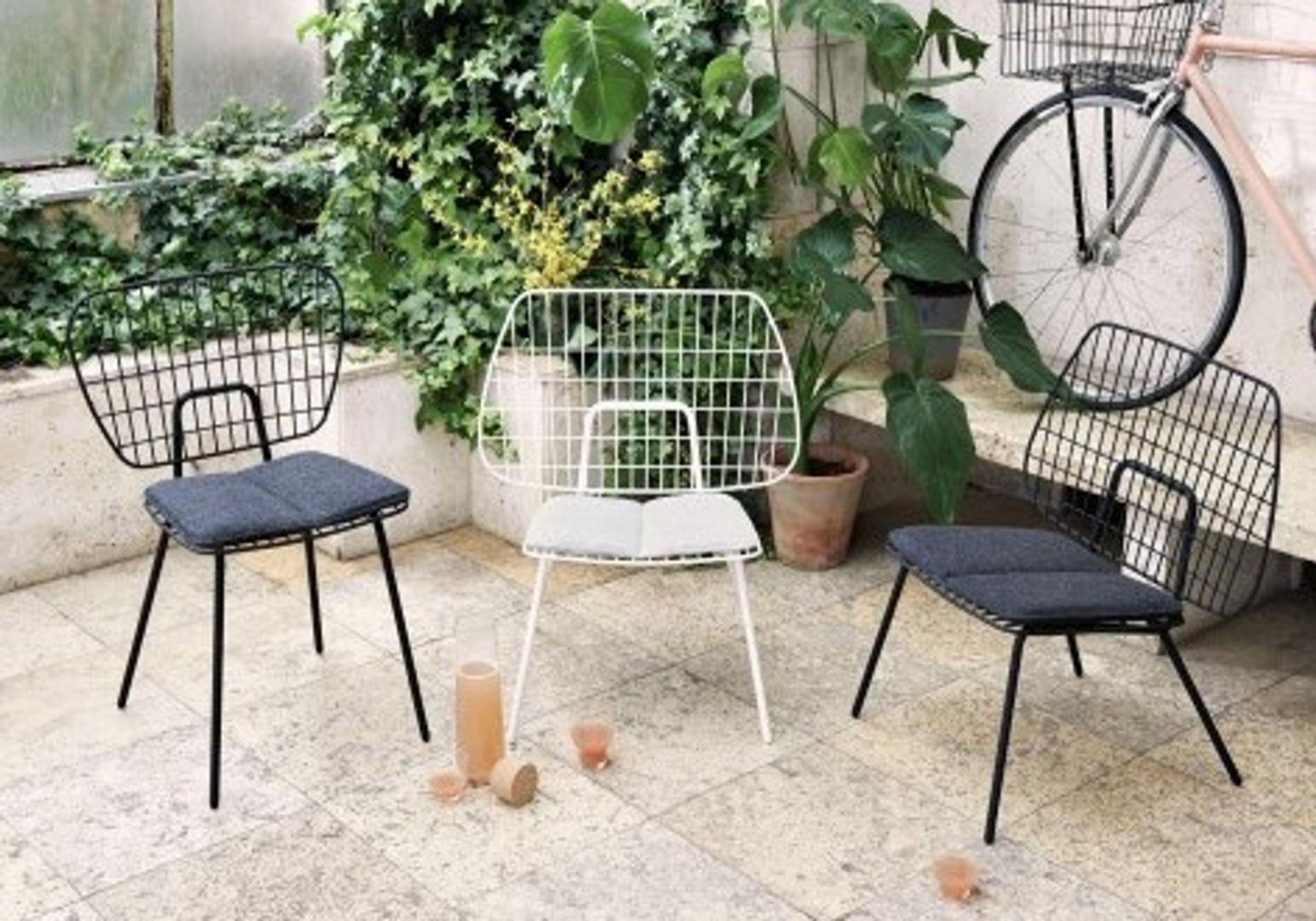 Chaise String blanche - MENU