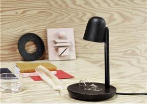 Lampe de table Focus Noir - MUUTO
