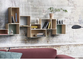 Mini Stacked  2.0 - Etagère Murale - MUUTO