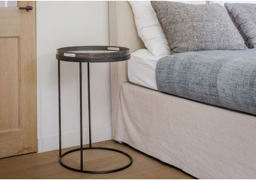 Table basse Round Tray small - ETHNICRAFT ACCESSOIRES