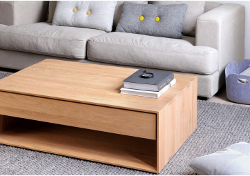 Table basse Nordic en chene - ETHNICRAFT