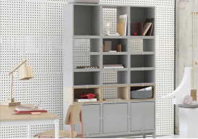 Stacked M 2.0 - Etagere avec fond - MUUTO
