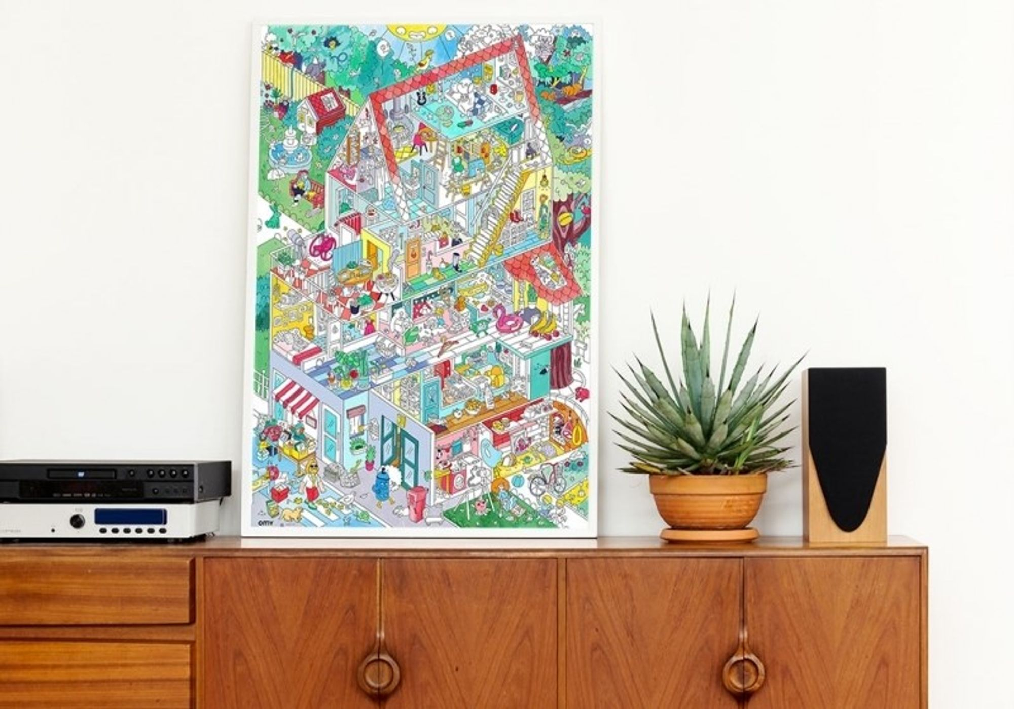 Poster Home - OMY