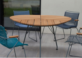 Table de jardin en bambou Leaf - HOUE