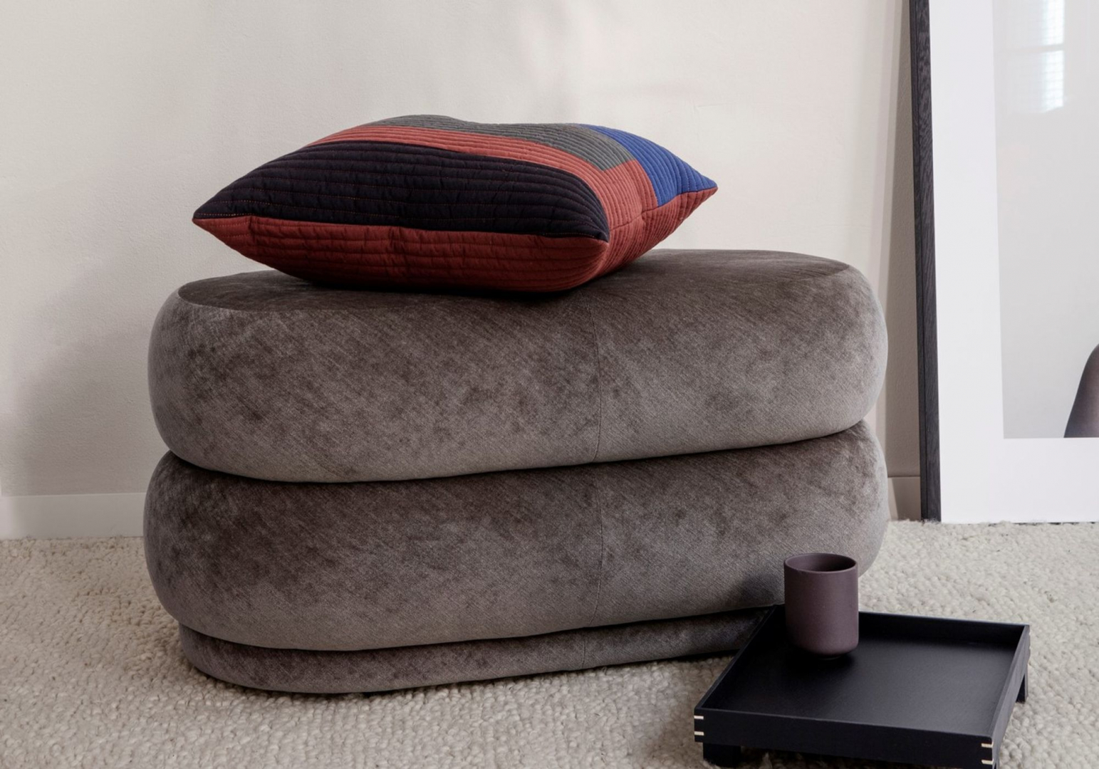 Pouf oval - FERM LIVING