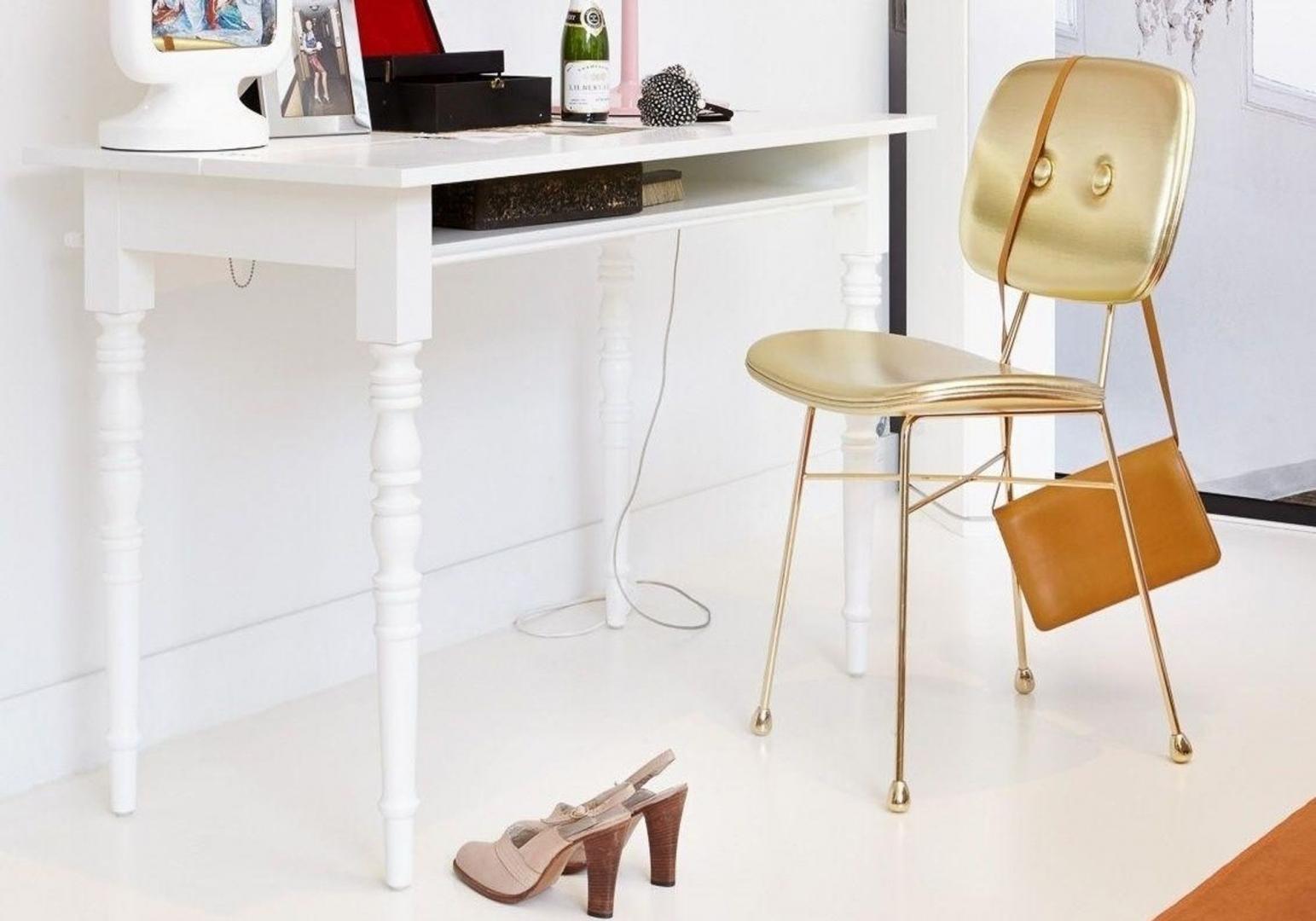 Golden chair - MOOOI