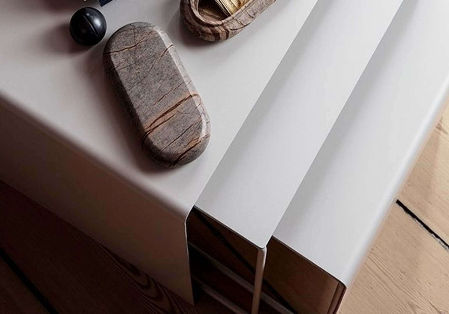 Tables gigognes - Grises - FERM LIVING