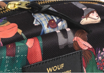 Pochette Makeup Girls - WOUF