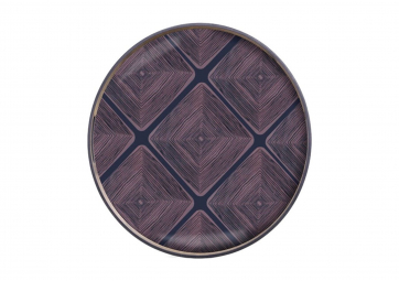 Plateau Midnight Linear Squares - ETHNICRAFT ACCESSOIRES