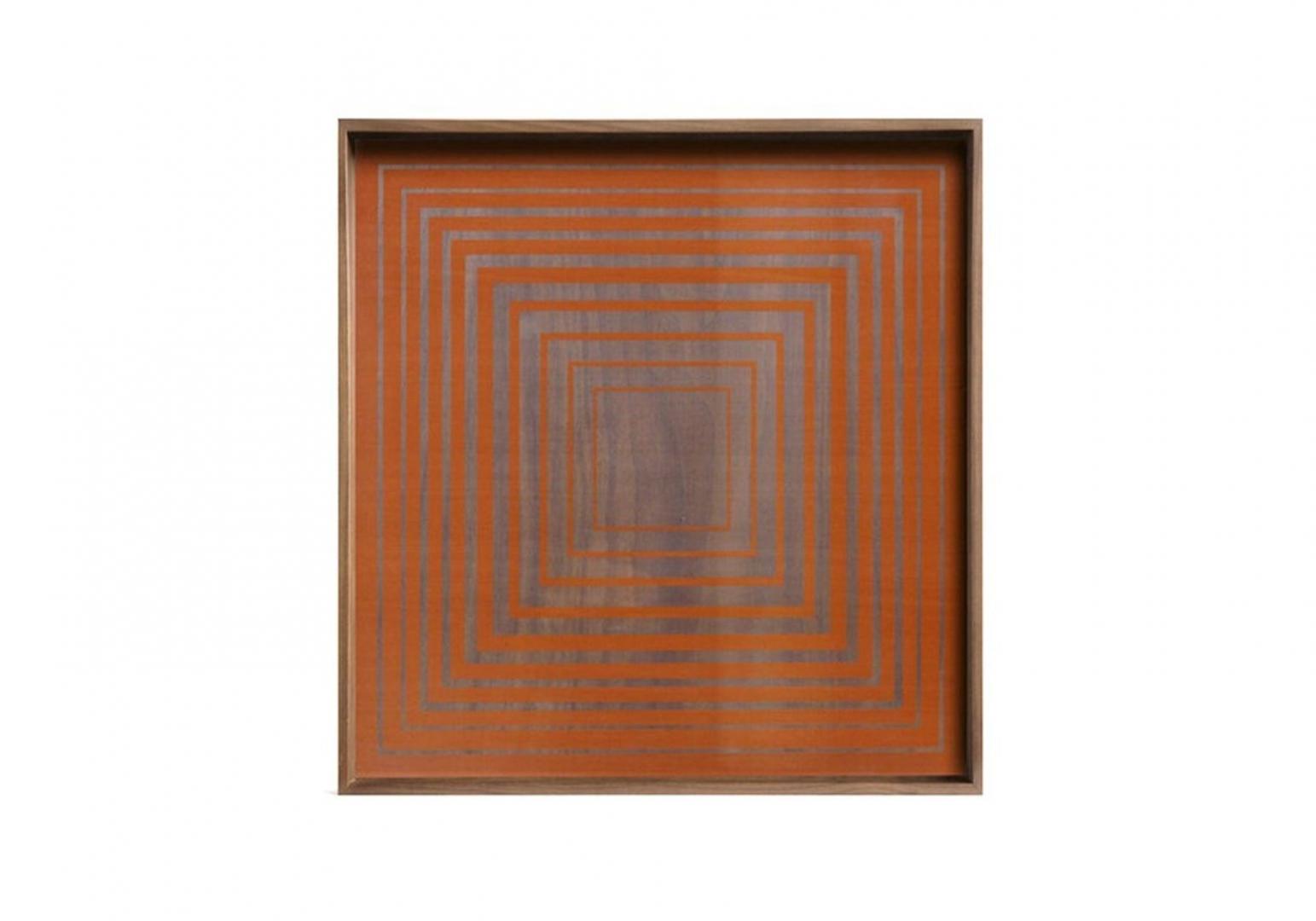 Plateau Pumpkin Square glass - ETHNICRAFT ACCESSOIRES