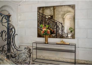Miroir rectangulaire Bronze XL - ETHNICRAFT ACCESSOIRES