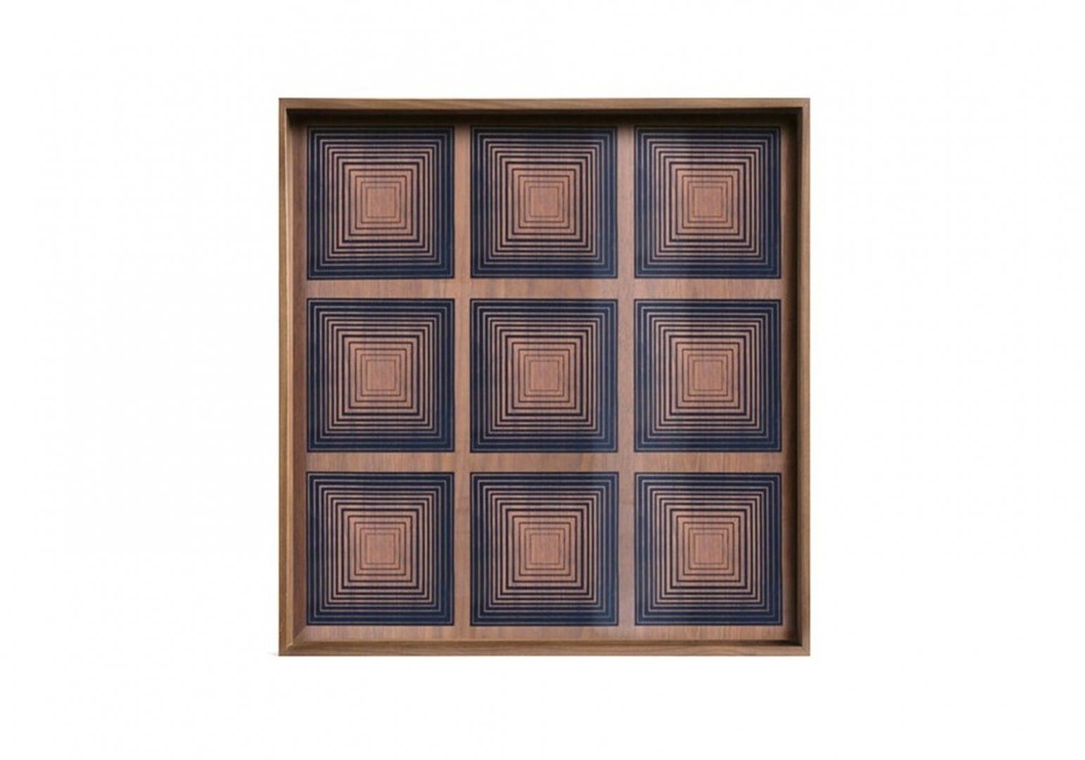 Plateau Ink Squares glass - ETHNICRAFT ACCESSOIRES