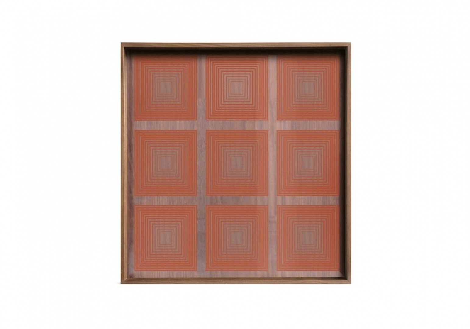 Plateau Pumpkin Squares glass - ETHNICRAFT ACCESSOIRES