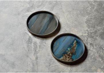 Mini plateau Organic glass - ETHNICRAFT ACCESSOIRES