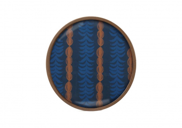 Plateau Small Royal Palm glass - ETHNICRAFT ACCESSOIRES