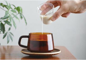 Tasse et sous tasse SEPIA - KINTO