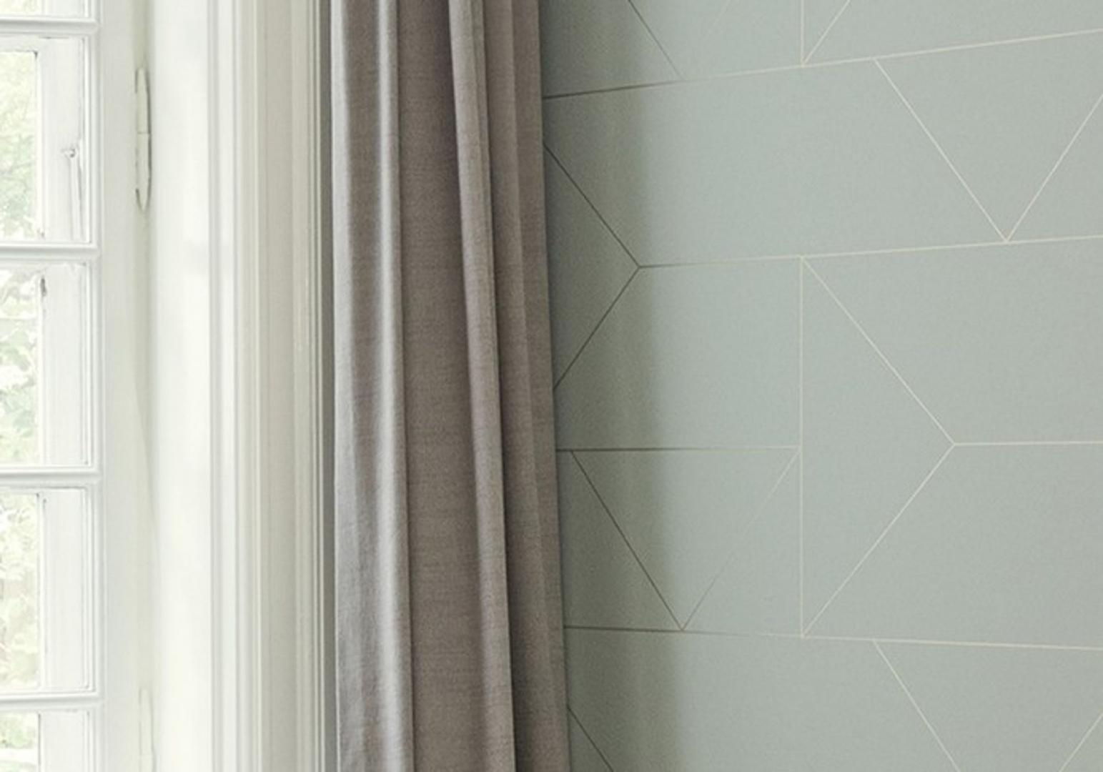 Papier peint Lines mint - FERM LIVING