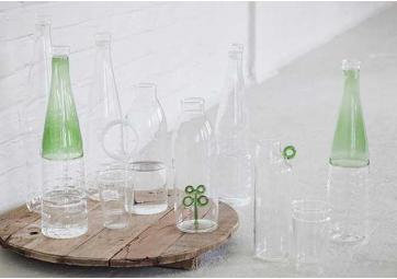 Bouteille en verre (B)  - SERAX