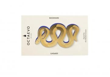 Marque pages serpent en laiton - OCTAEVO