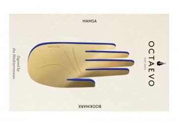 Marque pages Hamsa en laiton - OCTAEVO