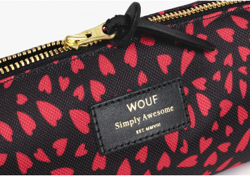 Hearts Pencil School Case - WOUF