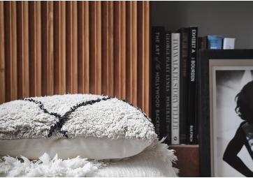 Coussin coton - motif losange 50 x 50 cm