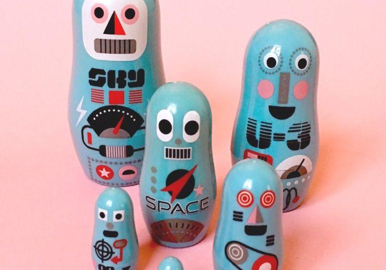 Matryoshka pocket Robots