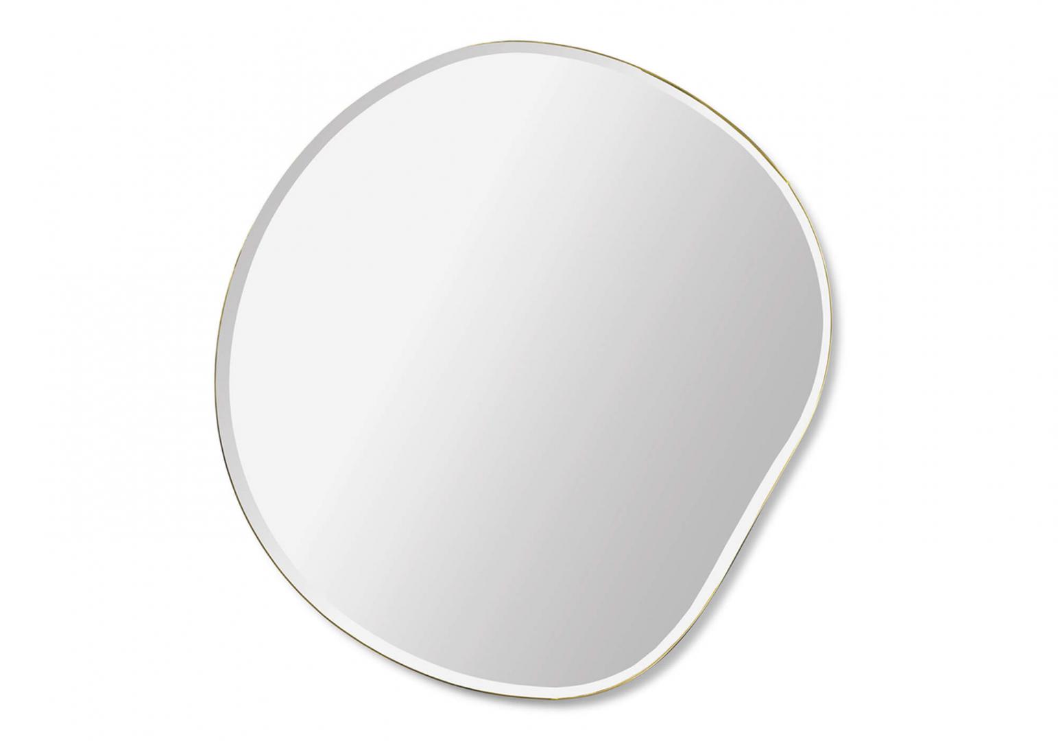 Petit miroir pond - FERM LIVING