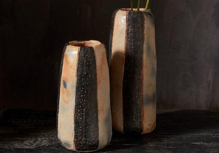 Pot rayé black T1 - HOMATA