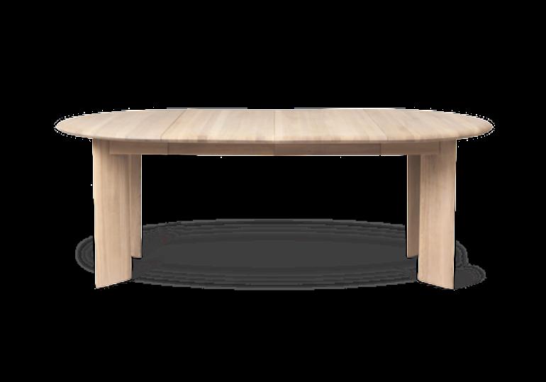Table extensible bevel - chêne huilé