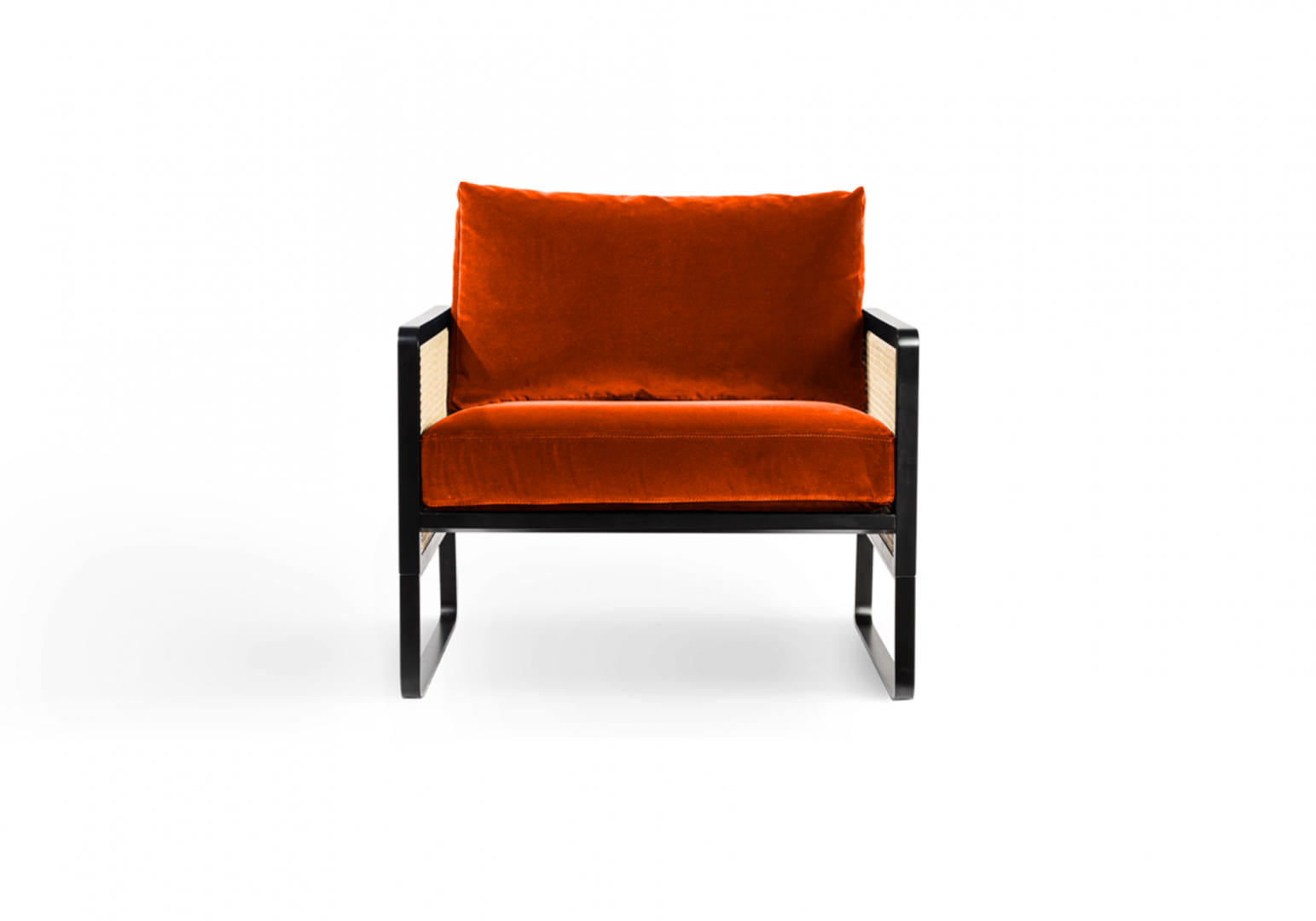 Fauteuil  Cannage noir - RED EDITION