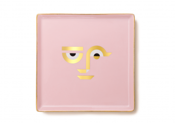 Plateau ceramique Apollo Rose - OCTAEVO