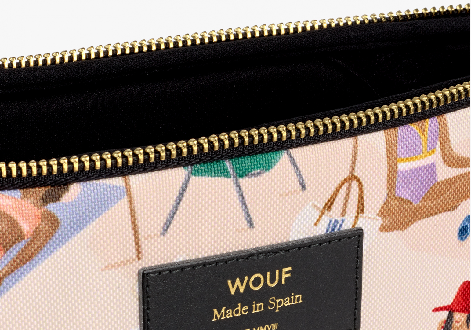 "Housse Macbook design 13"" Barceloneta - WOUF"