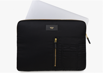 "Housse Macbook 13"" Black Bomber - WOUF"