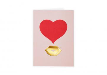 Carte de voeux Kiss - OCTAEVO