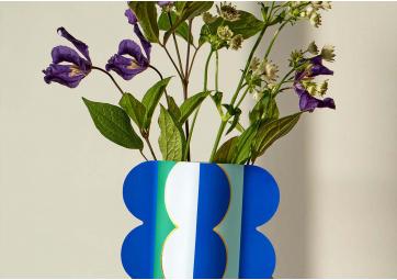 Vase papier Riviera Wave - OCTAEVO