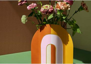 Vase papier Riviera Arch - OCTAEVO