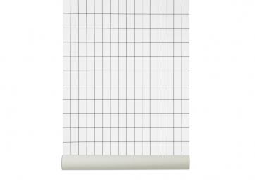 Papier peint GRID Blanc - FERM LIVING