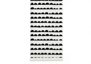 Papier peint HALF MOON Noir - FERM LIVING